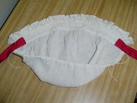 An 18th century cap, instructions and tutorial.