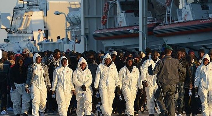 Italy arrests Muslim migrants 12 Migrants Drowned For Faith In Christ
