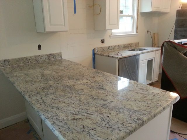 35 best White ice granite kitchen images on Pinterest | Granite ...