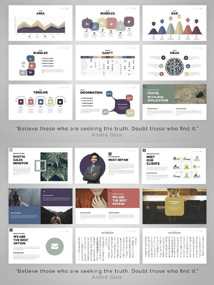 The 18 best PPT images on Pinterest Presentation design, Layout