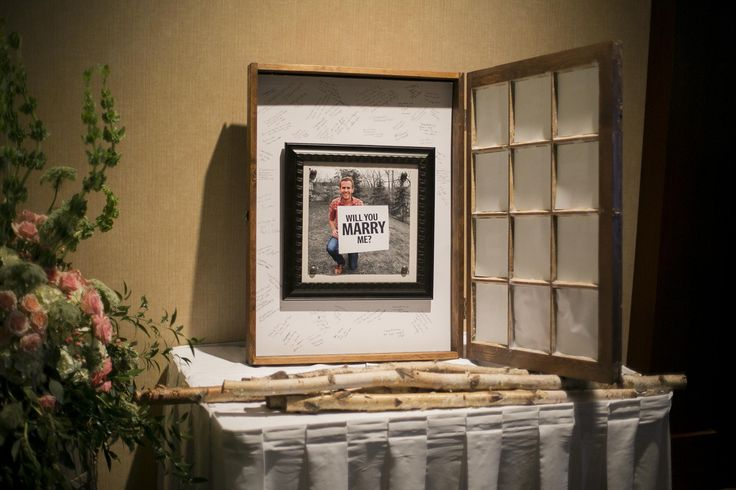 Window Frame Guest Book | Birch
