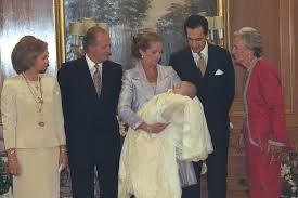Image result for Felipe Juan Froilán de Marichalar y Borbón   Sus padrinos fueron su abuelo materno Don Juan Carlos I y su abuela paterna Doña María de la Concepción Sáenz de Tejada y Fernández de Boadilla, condesa viuda de Ripalda.