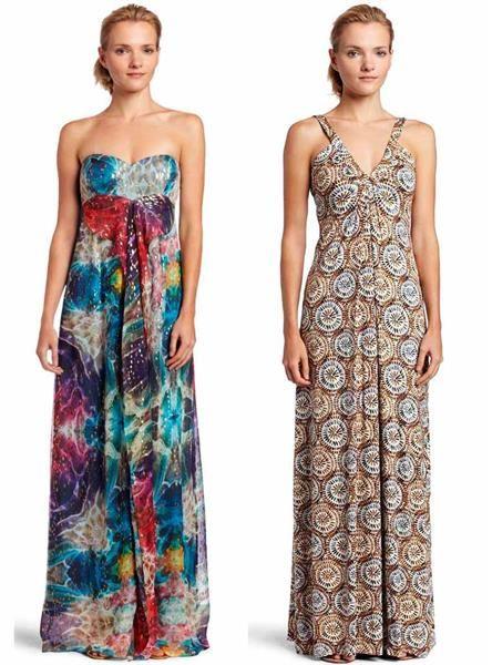 Купить длинное летнее платье в пол