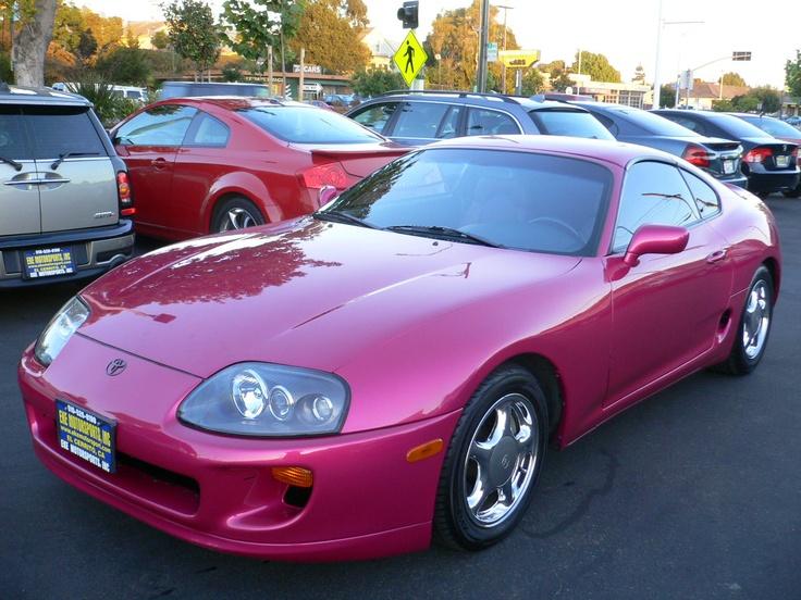 1996 Toyota Supra. PINK!