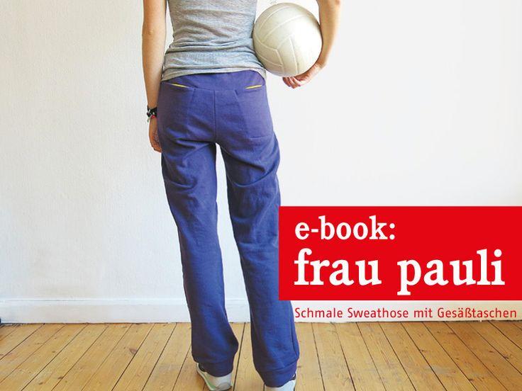 FrauPAULI+coole+Sweathose,+ebook+von+schnittreif+auf+DaWanda.com