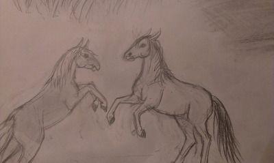#horses #my art #K.R.