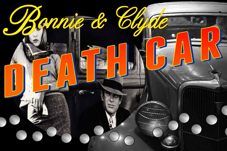 Bonnie and Clyde Death Car as seen in the Bonnie and Clyde movie with Warren Beatty and Faye Dunaway at the Volo Auto Museum, Volo, IL.  www.volocars.com