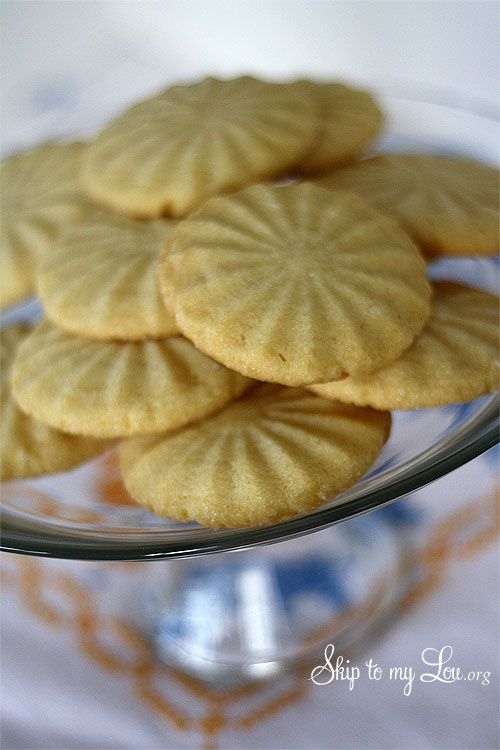 Best sugar cookie recipe ever! Passed down through generations and slightly crunchy. Try it today. www.skiptomylou.org #skiptomylou.org #cookies #sugarcookies