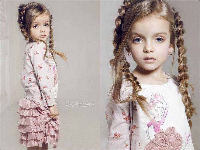 4-year-old Russian supermodel ---- Milan Kournikova Private adorable photo