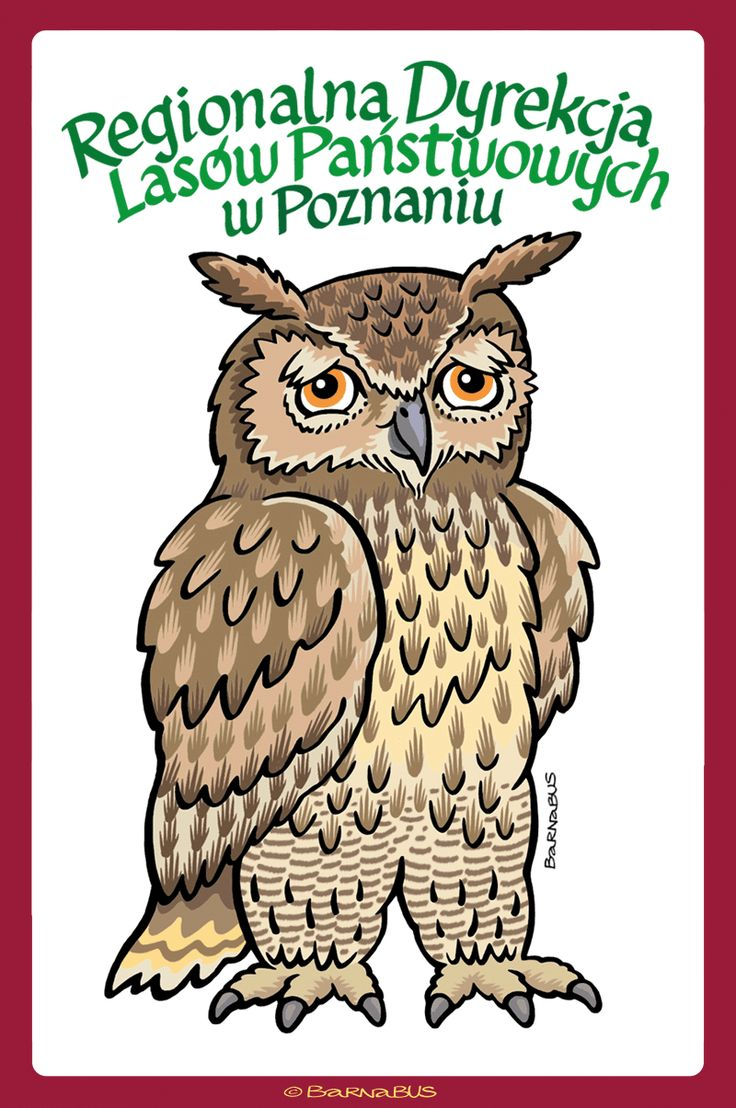© Barnabus - #Puchacz na koszulkę ▪ Eagle-owl for a T-shirt.