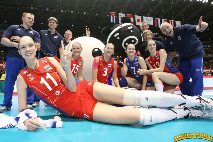Yekaterina Gamova and teammates by lowerrider.deviantart.com on @deviantART