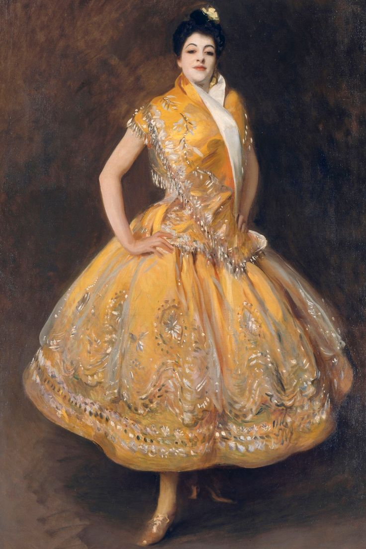 La Carmencita by John Singer Sargent, one of the paintings to be shown at the National Portrait Gallery in 2015.