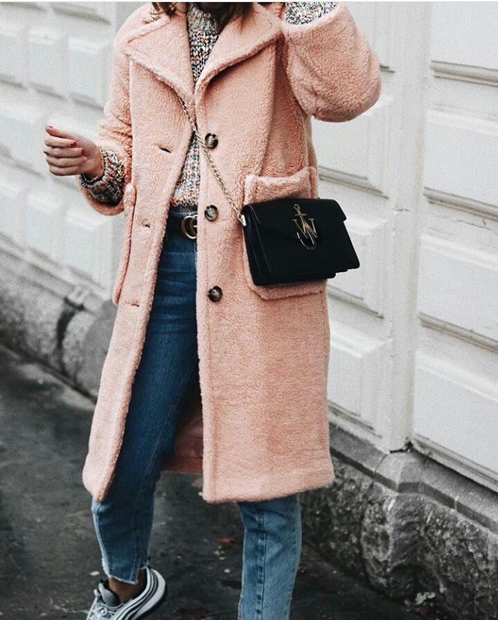 ASOS Coat in Luxe Teddy Borg Cosy coat Street fashion Pastel pink faux fur… - https://sorihe.com/adidas/2018/03/16/asos-coat-in-luxe-teddy-borg-cosy-coat-street-fashion-pastel-pink-faux-fur/