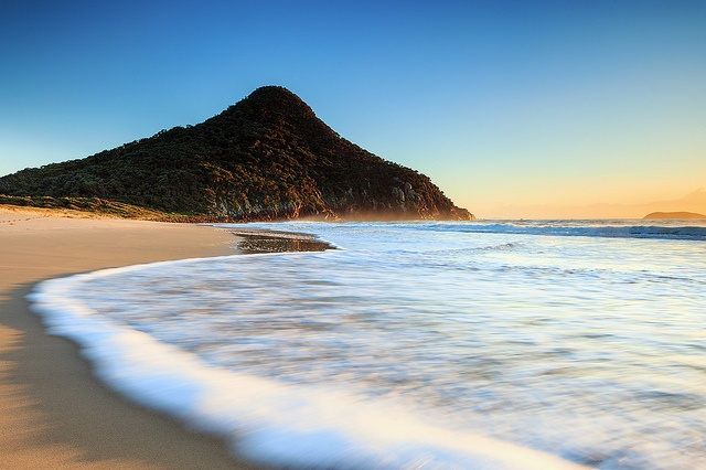 Dawn at Zenith Beach, Shoal Bay, Port Stephens, New South Wales ** one of the many beautiful local beaches I frequented when growing up at Shoal Bay.