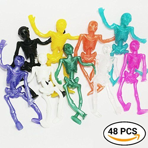 UpBrands Stretchy Skeleton 48 Pack 4 dz. Bulk Set 9 Colors, Kit suitable for Birthday Party Favors for Kids, Goodie Bags, Easter Egg Basket Stuffers, Pinata Filler, Small Toys Classroom Prizes - http://partysuppliesanddecorations.com/upbrands-stretchy-skeleton-48-pack-4-dz-bulk-set-9-colors-kit-suitable-for-birthday-party-favors-for-kids-goodie-bags-easter-egg-basket-stuffers-pinata-filler-small-toys-classroom-prizes.html