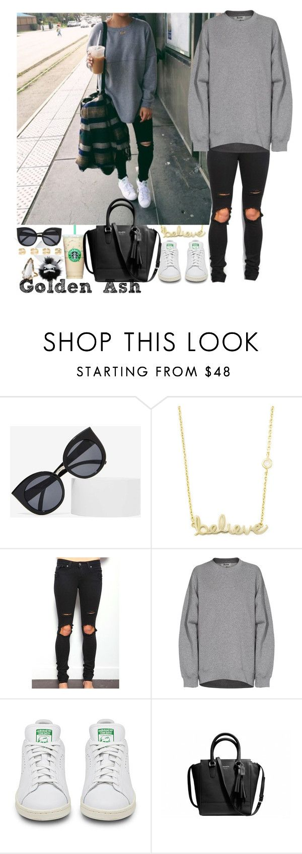 """""""After Break."""" by fashionsetstyler ❤ liked on Polyvore featuring Quay, Sydney Evan, Acne Studios, Maison Margiela and Fendi"""
