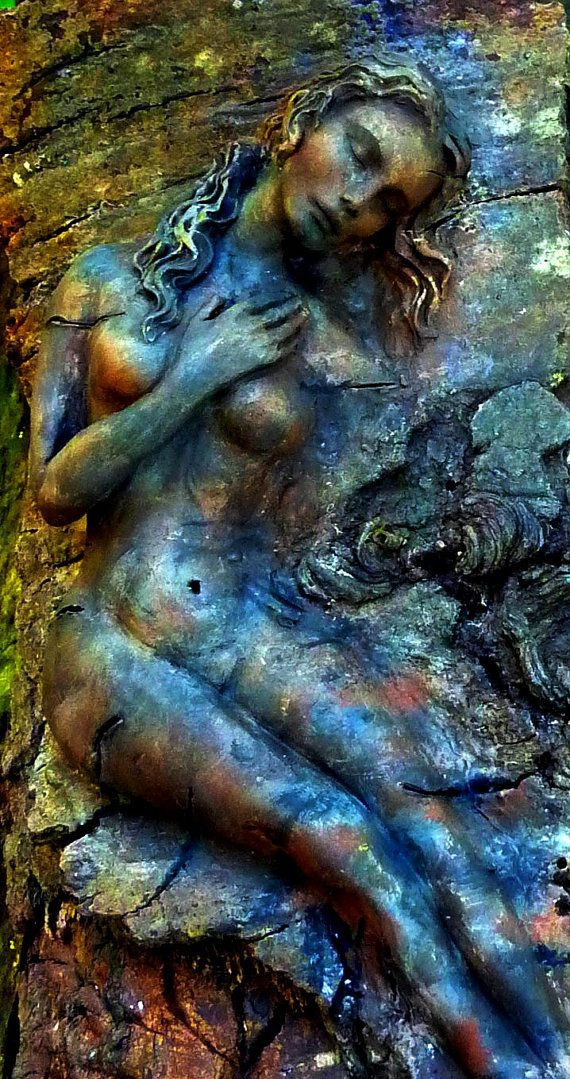 Aphrodite Goddess of Beauty and Nature Spirit by ShapingSpirit, $250.00