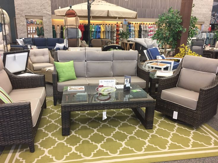 NCI/Chicago Wicker   Avant Sofa, Loveseat, Swivel Glider Lounge, Coffee And Part 16