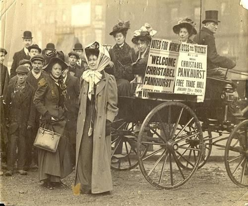 Suffragette Christabel Pankhurst is just one part of feminisms serious and powerful history