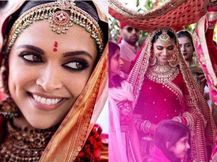 Decoding Each Of Deepika S Bridal Looks Massive Inspo Here For North South Brides Bridal Looks Wedding Function Indian Wedding