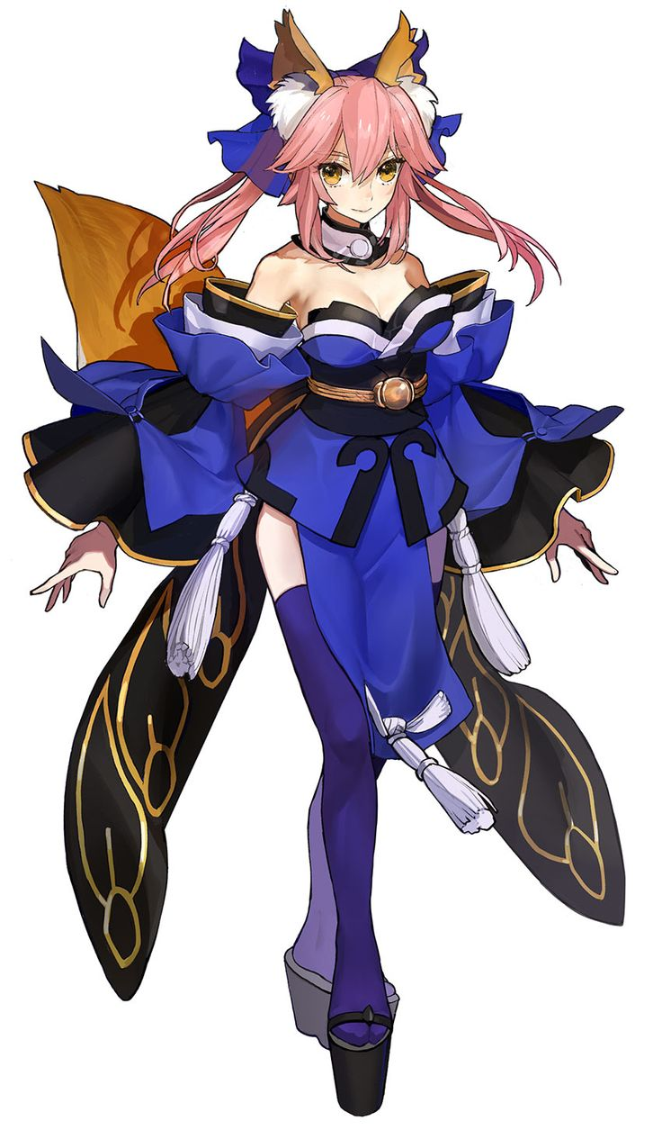 Tamamo from Fate/Extella: The Umbral Star