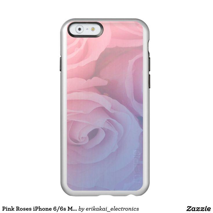 Rose Quarz and Serenity Roses iPhone 6/6s Metalic Case