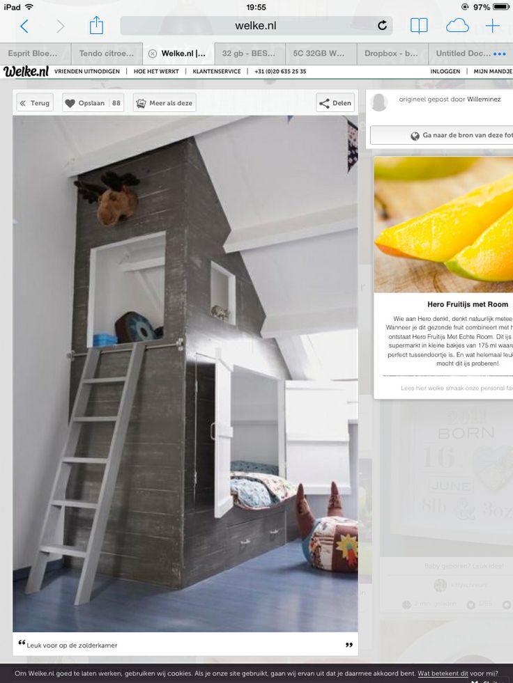 67 beste afbeeldingen over zolderkamer op pinterest ladder de zolder en mezzanine - Zolder stelt fotos aan ...