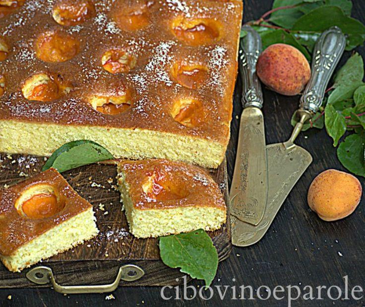 Marillenkuchen Torta di albicocche Tedesca. #ricetta di @annamolino