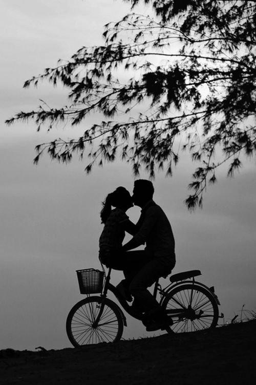 Silhouette of a private moment....