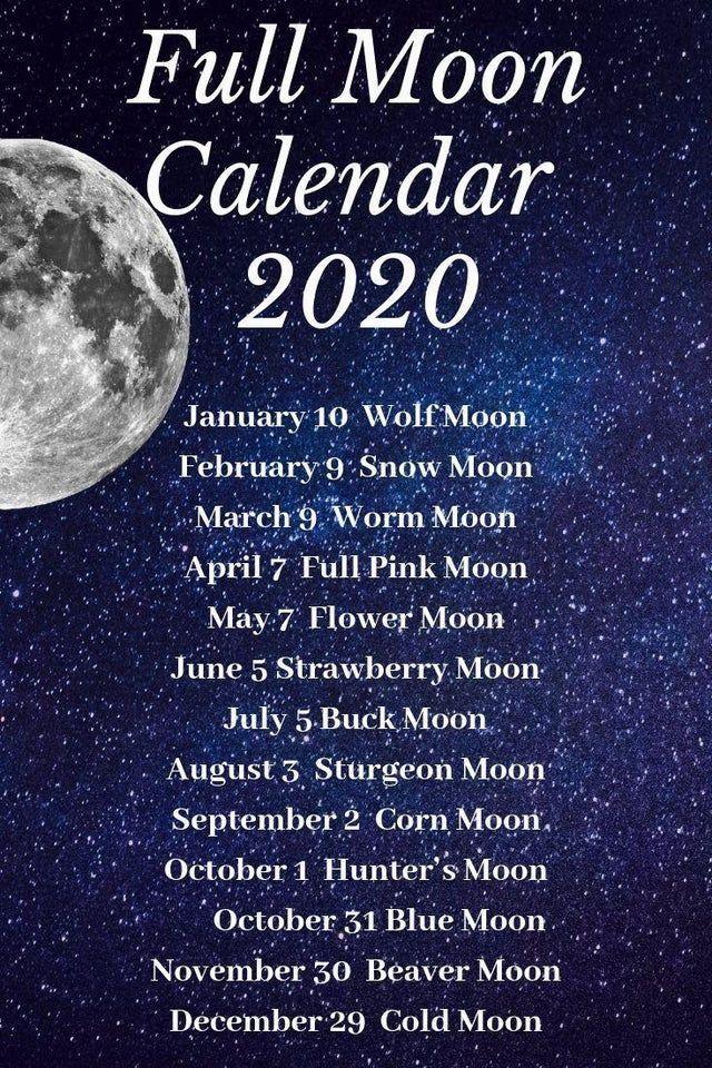 Blue moon on Oct. 31 next year! Wicca Moon calendar