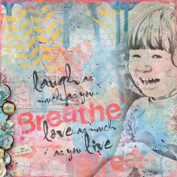 Mini-J #2 Breathe by Courtney\'s Designs
