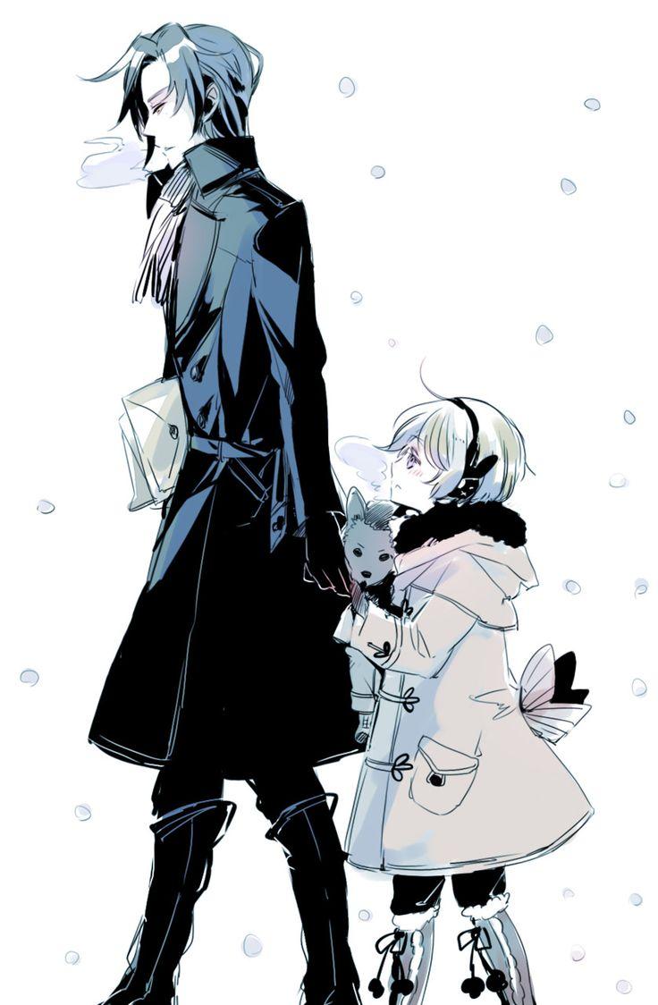 Kuroshitsuji iphone wallpaper tumblr - Cute Black Butler Ii Alois Trancy And Claude Faustus