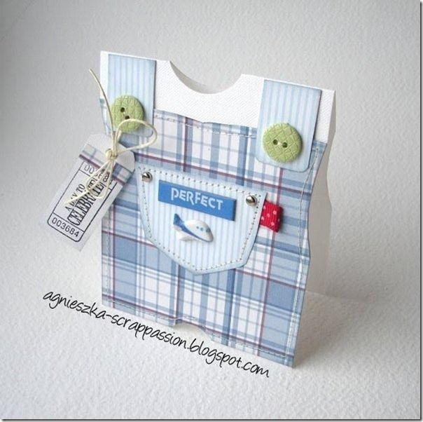Мастер-класс открытка рождение мальчика