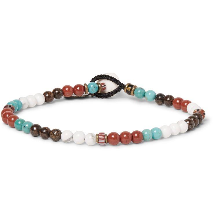 Red Jasper Wrap Bracelet Mikia b98X3LxTq