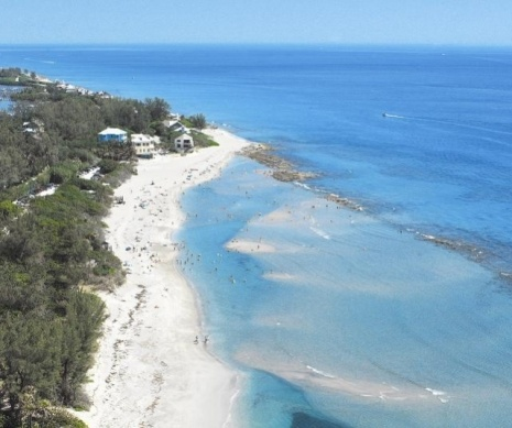Bathtub Reef Beach near Stuart. Link for history of the Treasure Coast