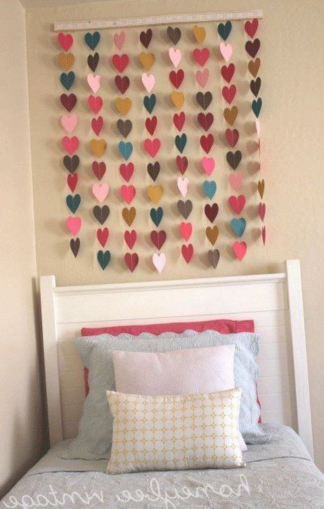 homemade wall decorations for bedrooms - Homemade Decorations