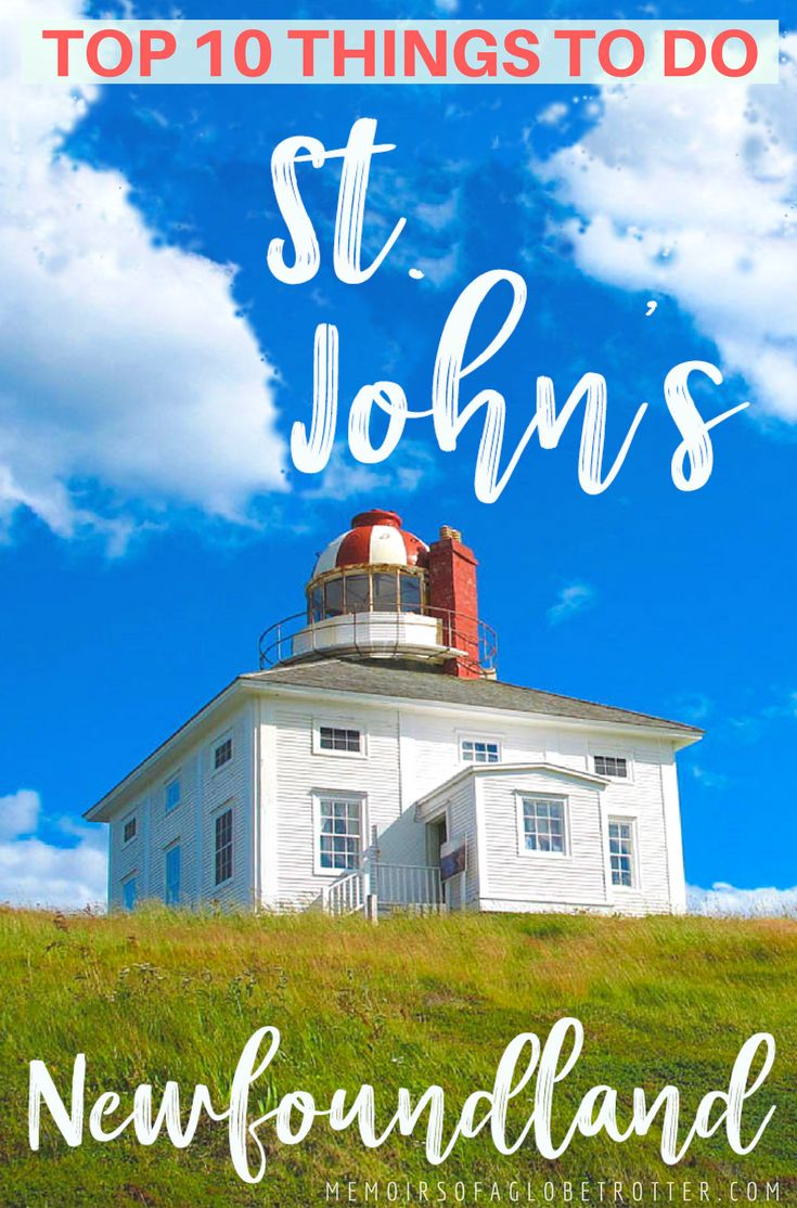 St. John's, Newfoundland is the most easterly city in Canada. It is known for its colourful buildings, vibrant culture, fascinating history, and friendly locals. #Newfoundland #Canada #Lighthouse