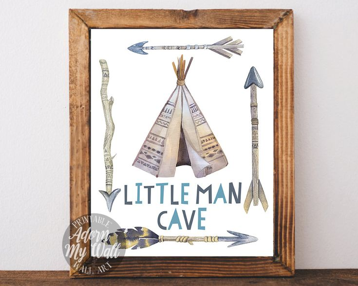 Little Man Cave Nursery Ideas : Little man cave instant download boys room baby boy