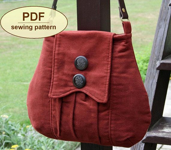 DESCRIPTION: Please note: If you wish to make a few bags from Charlie's Aunt sewing patterns or books to sell, please read the rules in the additional information section of our policies page. Inspired by British country life in the 1940s, the Poacher's Bag has a gathered front pocket