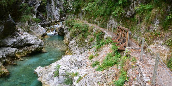 Tolmin szurdok Triglav, Szlovénia