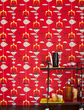 Mobiles wallpaper from Sanderson