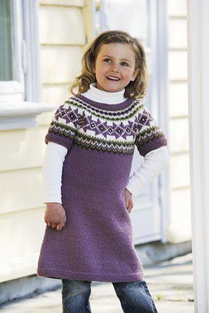1011: Modell 17 Tunika #strikk #knit #fjells