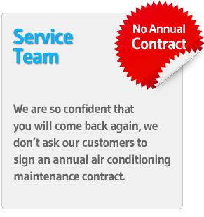 Air Conditioning Maintenance Contract.  #DAir #AirConditioning #AirConditioningMaintenance