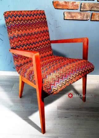 Armchair Vintage- Fotel PRL 1961 w RENOWARKA na DaWanda.com