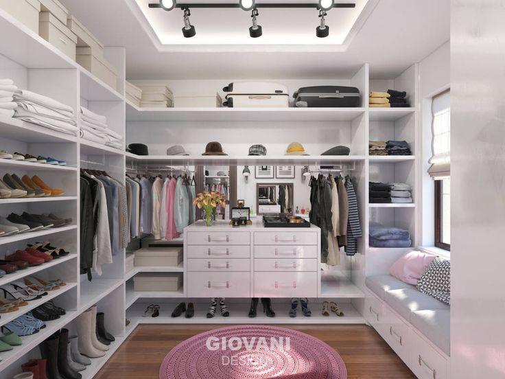 Гардеробная комната (De Giovani Design Studio)
