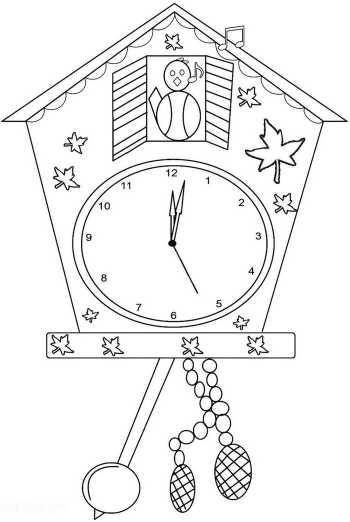 Free Clock Coloring Pages Printable Free Coloring Sheets Clock Craft Coloring Pages For Kids Germany For Kids