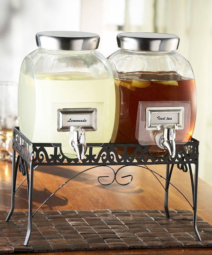 Beverage Dispenser Set