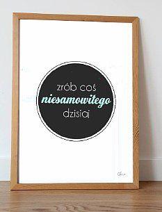 Plakat dekoracyjny NIESAMOWITE 50x70cm | 100,00zł