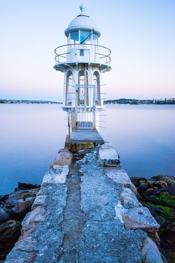Robertson's Point #Lighthouse - Sydney, #Australia - http://dennisharper.lnf.com/