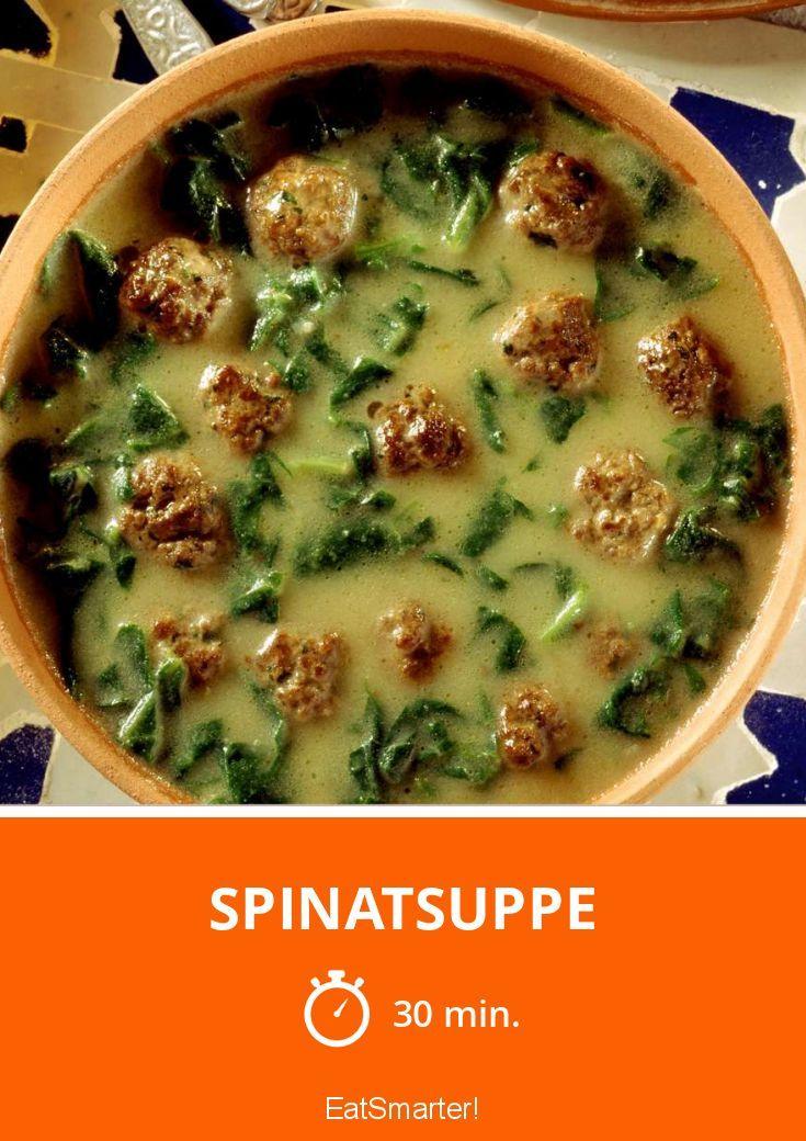 Spinatsuppe - smarter - Zeit: 30 Min. | eatsmarter.de